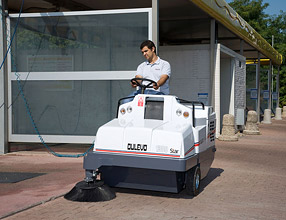 Industrial Cleaning Equipment - 1300 Series Sweeper